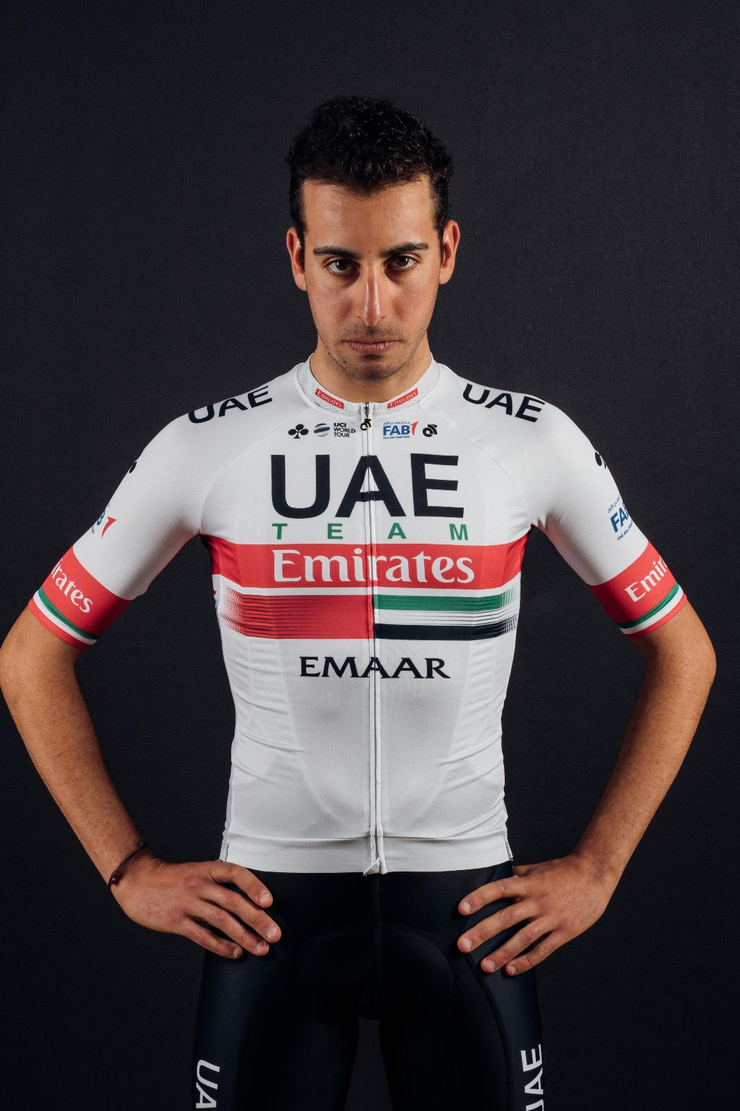 New UAE Team Emirates kit for Fabio Aru